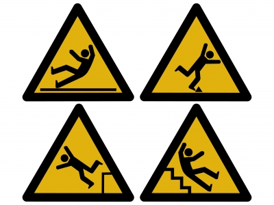trip signs