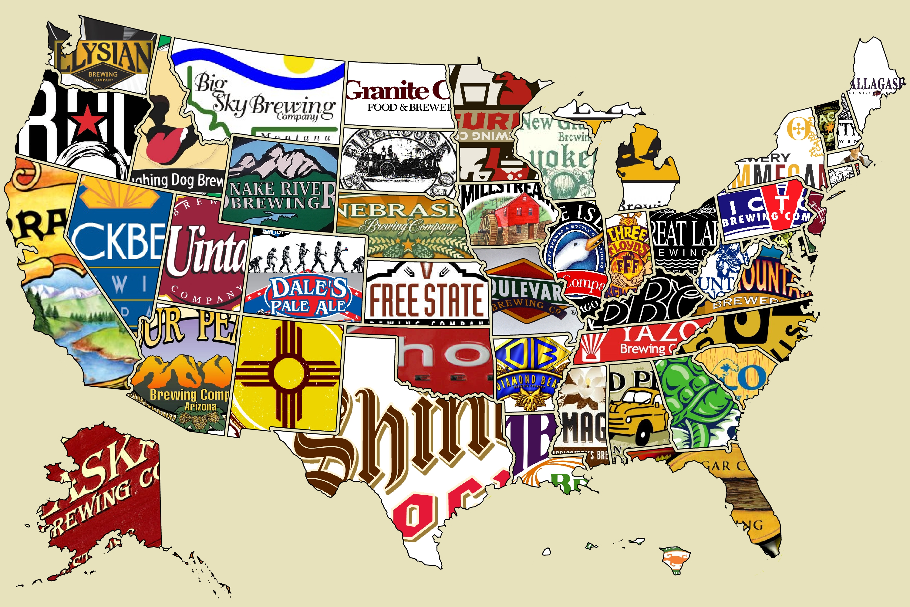 What Is The BEST Beer City In America Beer Whiskey Brothers - Beer Map Of The Us