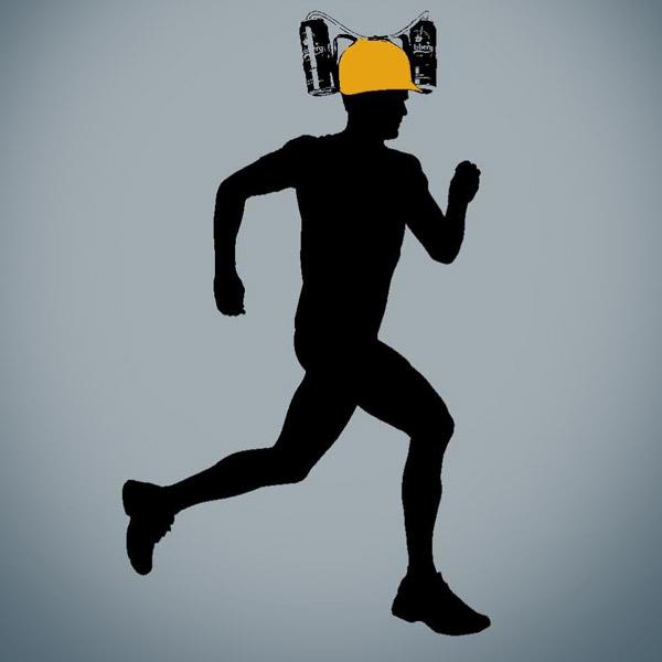 running-beer